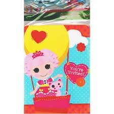 Lalaloopsy Invitations and Thank You Notes w/ Envelopes (8ct ea.)