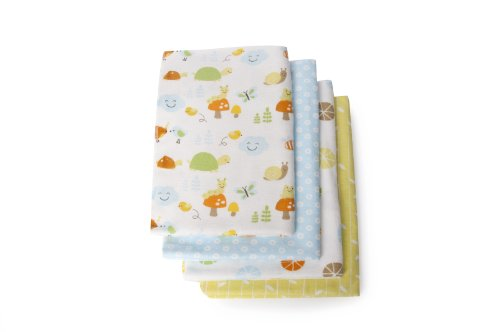 Carter's Receiving Blanket, Critters (Discontinued by Manufacturer) (Discontinued by Manufacturer)