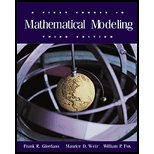 First Course in Mathematical Modeling-Textbook Only, by Frank R. Giordano