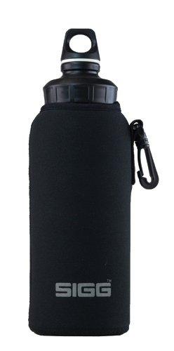 Sigg Usa Neoprene Pouch Black 1.0L Wmb front-142917