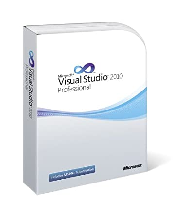 Visual Studio 2010 Professional with MSDN (Old Version)