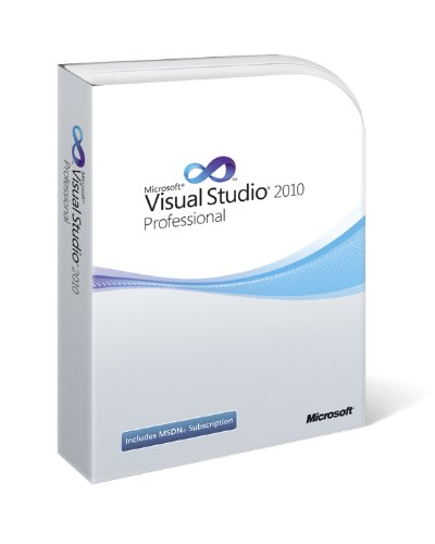 Visual Studio 2010 Professional with MSDN