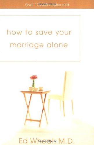 How to Save Your Marriage Alone