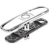 American Standard M961850-0750A Stainless Steel Escutcheon