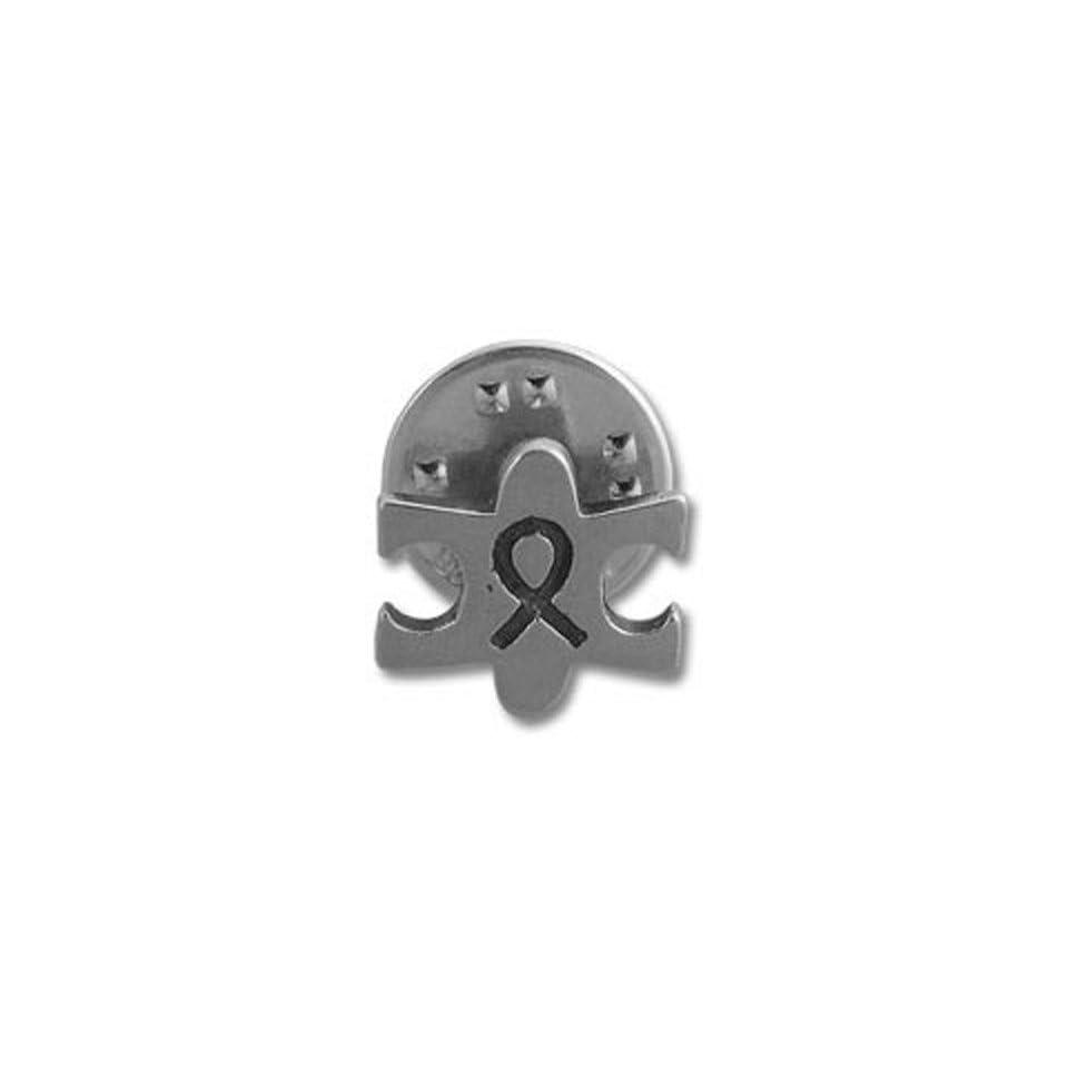 Autism Awareness Puzzle Ribbon Pin