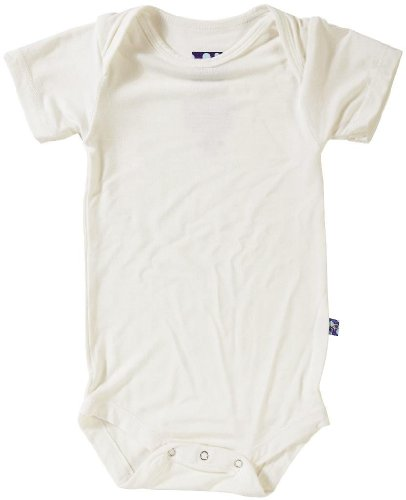 Kickee Pants Short Sleeved One-Piece, Natural, 12-18 Months front-507763