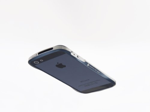 【iPhone5用アルミバンパーの最高峰】Deff CLEAVE ALUMINIUM BUMPER for iPhone5 DCB-IP50A6BUL ミッドナイトブルー