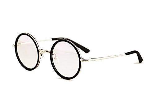 Agstum Vintage Retro Small Round Prescription Optical Eyeglass Frame ...