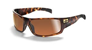 Bolle Sport Piranha Sunglasses (Dark Tortoise, Polarized)