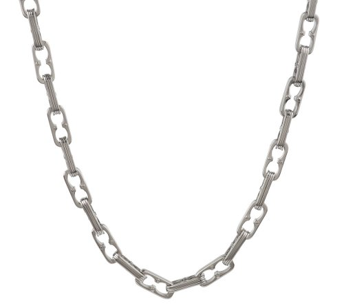 Edforce Stainless Steel Bicycle Link Necklace