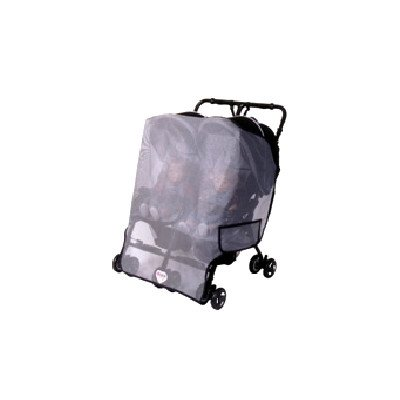 Sashas Sun, Wind And Insect Cover For Miamoda Facile Twin Side By Side Stroller front-173558