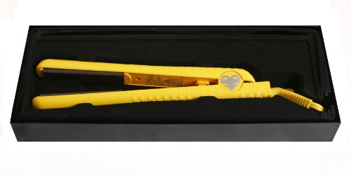 Bff Pro Flat Iron Ceramic Hair Straightener Yellow