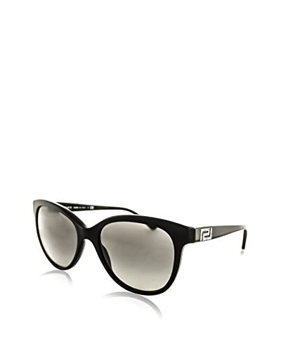 Versace Women's VE4246B Sunglasses, Black
