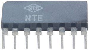 Integrated Circuit 5-Step Led Driver For Linear Scale 8-Lead Sip Vcc=18V Max