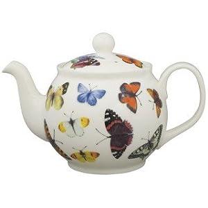 Roy Kirkham Butterfly Garden Teapot