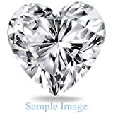 3.010 Carat - Heart Cut Loose Diamond, VVS2 Clarity, G Color