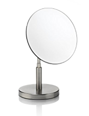 Freestanding Round Cosmetic Mirror