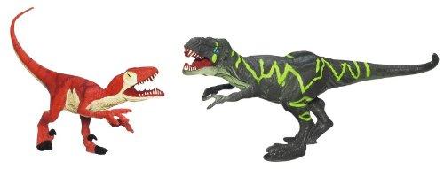 "Jurassic Park 3 3/4"" Dino Battlers Velociraptor vs Tyrannosaurus Rex Exclusive - 1"