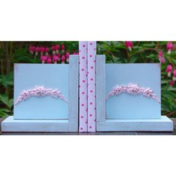 Floral Bookends