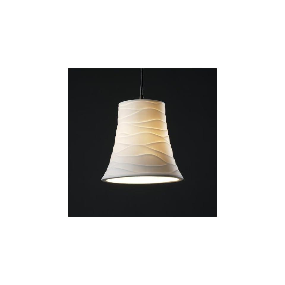 Justice Design POR 8816 20 SAWT ABRS Limoges   One Light Small Pendant, Impression Option Sawtooth Shade Impression, Choose Finish Antique Brass Finish, Choose Lamping Option Standard Lamping