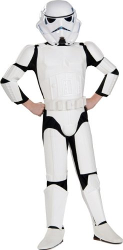 Star Wars Child'S Deluxe Stormtrooper, Medium front-500096
