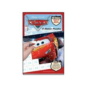 Disney Pixar Cars Sticker Puzzles - Book 1 - 1