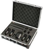 7 Pc Piece Drum Microphone Kit With Metal Case