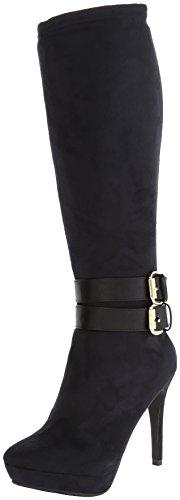 Xoxo Women'S Nala Harness Boot,Black,8 M Us