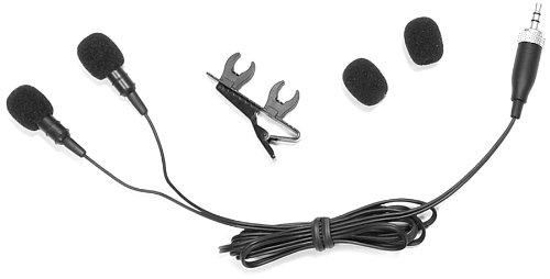 Pyle Plmsh45 Dual Electret Condenser Cardioid Lavalier Microphones