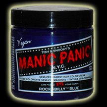 Manic Panic Rockabilly Blue Hair Dye #5
