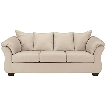 Flash Furniture Darcy Sofa, Stone Fabric