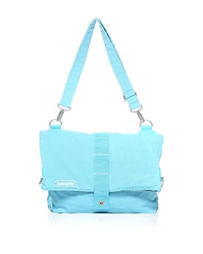 Invicta Bolsa messenger Canvas Azul Celeste
