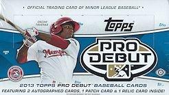2013 Topps Pro Debut Baseball box (24 pk HOBBY) by Topps