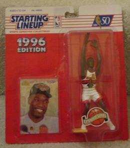 Dikembe Mutombo 1996 Edition Starting Lineup NBA Action Figure