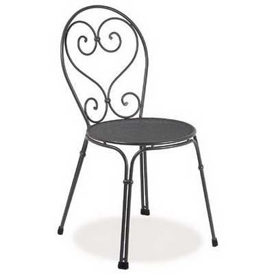 Emu 309092200 Pigalle Stapelstuhl 909, pulverbeschichteter Stahl, antik eisen, 4er Set jetzt kaufen