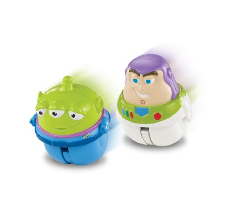 Disney Pixar Toy Story Zing'Ems - Hero Buzz Lightyear & Alien 2-pack