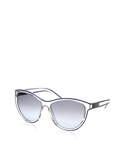Chloé Women's CE622S Sunglasses, Crystal Blue Outline