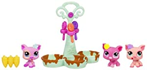 Littlest Pet Shop Pet Triplets - Pigs
