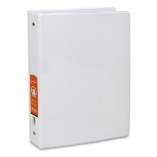 BAZIC 1-Inch Red 3-Ring Binder with 2-Pockets