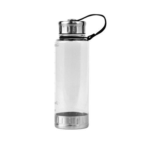 Sleek Single Wall Acrylic Sport Water Bottle - 23Oz. Capacity - Clear front-579863