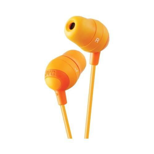 Jvc Hafx32D Marshmallow Earbuds (Orange) (Jvc Hafx32D)