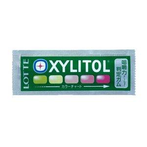 キシリトール 咀嚼力 判定 ガム 1枚 ミックスフルーツ味