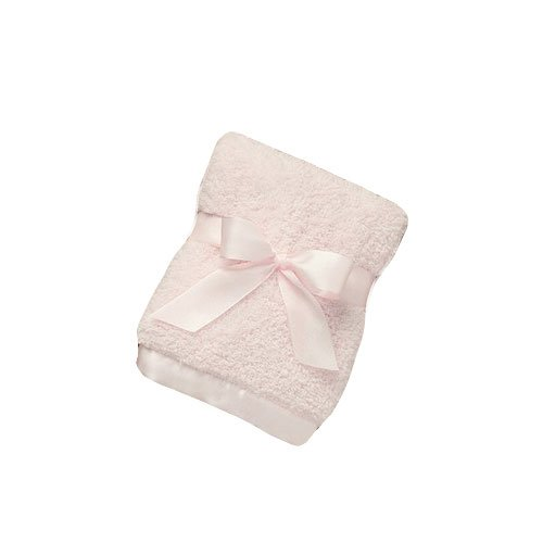 Bearington Baby - Cozy Chenille Security Blanket (Pink) - 1