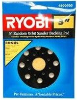 Great Features Of Ryobi 5 Random Orbit Sander Backing Pad