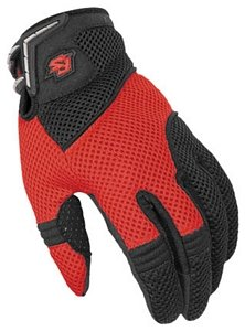 TI AIR MESH 2.0 GLOVE RD/BK SIZE:3XL