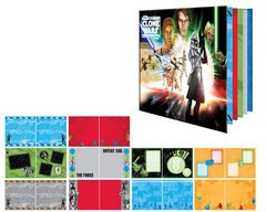 Creative Imaginations - Star Wars Clone Wars Collection - 8 x 8 Pre-Designed Album