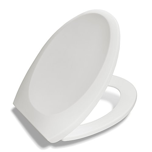 Bath Royale Premium Elongated Toilet Seat with Cover, Slow Close, Quick Release for Easy Cleaning, Upgrade Replacement & Bathroom Remodel, Fits All Elongated (Oval) Toilets & Toilet Brands (Oval Slow Close Toilet Seat compare prices)