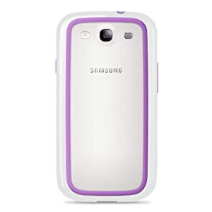 Belkin Surround Case / Cover for Samsung Galaxy S3 / S III (White / Purple) by Belkin