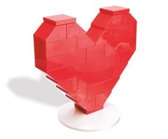 レゴ ハート / LEGO Heart 40004 [国内流通正規品:LEGOショッパー付Ver.]
