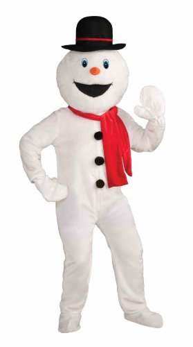 Forum Novelties Men's Deluxe Snowman Mascot Costume
